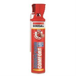 Espuma Poliuretano Soudal Comfort 600Ml