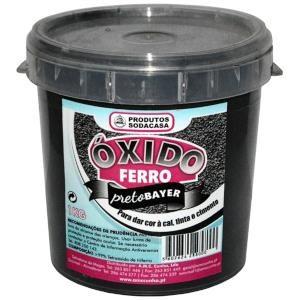 Oxido Ferro Preto 1Kg