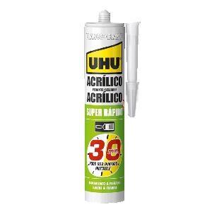 UHU - SILICONE ACR. UNIV.30MIN 280ML