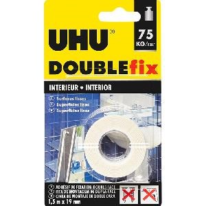 Uhu - Fita Cola Doublefix Int. 1.5M*19Mm