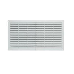 Grelha Ventilação Fixa Branca 18X32