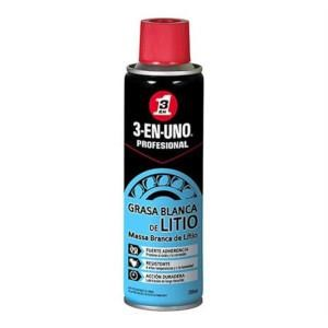 Massa Branca De Litio Spray 3 Em 1 -250Ml