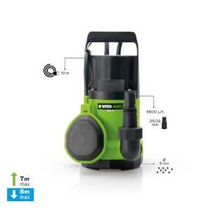Bomba Submersivel P/Aguas Limpas Plast.350W