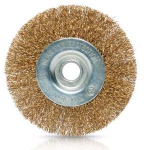 Escova Aço Circular P/Rebarbadora 100Mm Vito