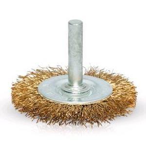 Escova Aço Circular P/Berbequim Vito