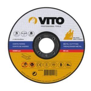 Disco C/Ferro 115*3.2*22 Vito