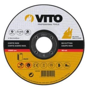 Disco C/Inox 115*1.0*22 Vito